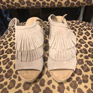 Minnetonka Fringe Wedges